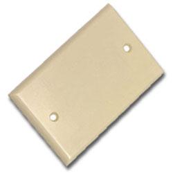 Leviton Nylon 1 Gang Blank Faceplate