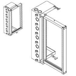 Chatsworth Products 18 Inch Deep Universal Swing Gate Rack