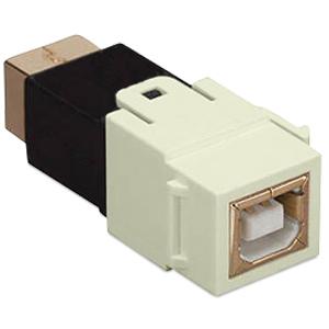 Allen Tel Versatap USB 2.0 Female B to Female B Coupler (Package of 10)