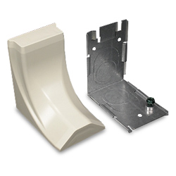 Legrand - Wiremold Plugmold® 2400 Series™ Steel Raceway Transition Feed Fitting