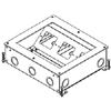 RFB9 Series A/V Four-Compartment Nine-Gang Floor Box