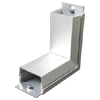 2400 Series Aluminum Internal Elbow