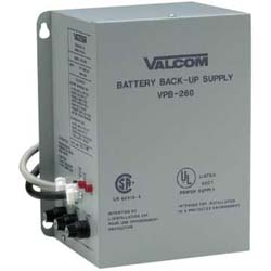 Valcom Battery Back-Up Power