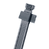 Weather Resistant Standard Cross Section Releasable Cable Tie  (Package of 100)