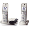 Expandable Digital Cordless Phone with 2 Handsets