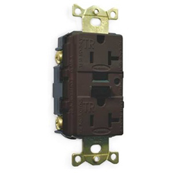 Hubbell Tamper Resistant Industrial Grade Wall Plate