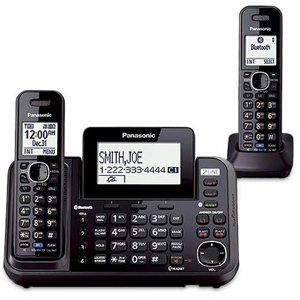 2 Line Cordless Link to Cell Phone with USB