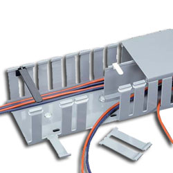 Panduit® 6' Slotted Wall Wiring Duct - Type G (Package of 10)