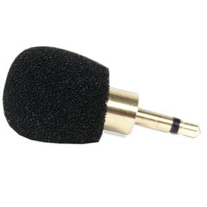 Williams Sound Plug Mount Microphone, Omnidirectional for Pocketalker