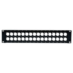 Hubbell Pro-AV Panel Mount Patch Panel (Unloaded)