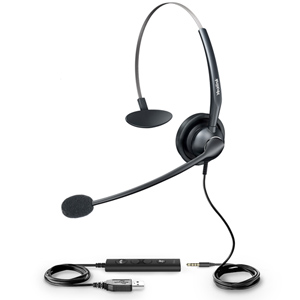 Wideband USB Headset for IP Phones