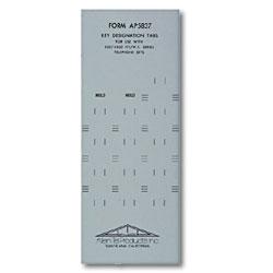 Allen Tel Key Designation Tabs
