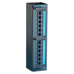 Legrand - Ortronics Clarity 5E Modular to 110 High Density Mini Patch Panel with Six-Port Modules