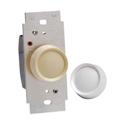 Leviton Trimatron Deluxe Push On/Off Electro-Mechanical 3-Way Incandescent Rotary Dimmer
