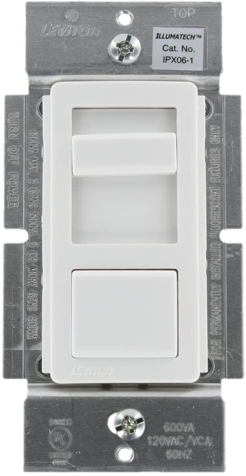 Leviton 600VA Commercial Grade Mark X Fluorescent IllumaTech Dimmer
