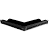 Z-MAX 24-Port UTP Angled Patch Panel, 1RMS, Black, Empty
