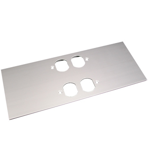 AL5200 Multi Channel Raceway Double Duplex Cover Plate