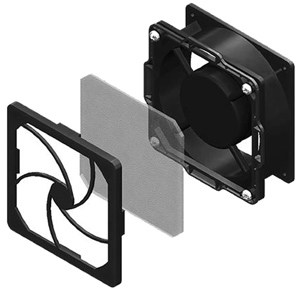 Low Decibel Dual Fan and Filter Kit for CUBE-iT
