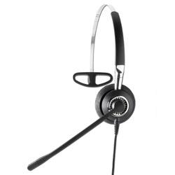 Jabra BIZ 2420 Mono Headband Noise Canceling Quick Disconnect STD Corded Headset
