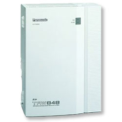 Panasonic KX-TAW848 Advanced Hybrid Phone System (4x4)