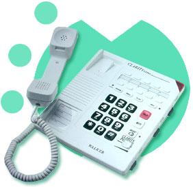 amplified telephone, walker clarity, hearing impaired telephone, amplified phone