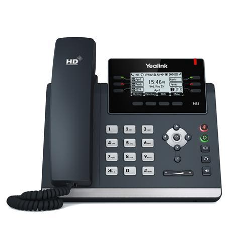 T41S Ultra Elegant IP Desk Phone