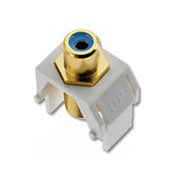 Legrand - On-Q Blue RCA to F Connector