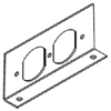 RFB4 Series Internal Duplex Receptacle Bracket