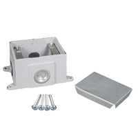 Legrand - Wiremold OmniBox Series Single Gang Cast Iron Floor Box