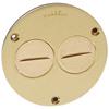 Round Floor Box Flush Cover - 1-1/2