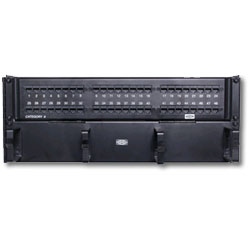 Hubbell SpeedGain Cat 6 48-port Universal Patch Panel (Wall Mount)