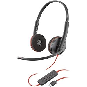 Blackwire 3320 Microsoft USB-C Binaural Headset
