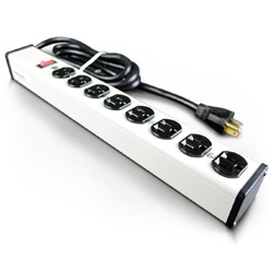 Legrand - Wiremold Plug-In Outlet Center® with Eight Outlets and Switch