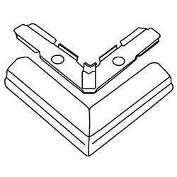 Legrand - Wiremold 500® Series Flat Elbow