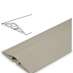 Legrand - Wiremold 1200 Series™ Corduct Flexible Nonmetallic Pancake® Overfloor Raceway Five foot