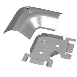 Legrand - Wiremold 2600 Series™ Pancake® Overfloor Steel Raceway 90 Degree Flat Elbow