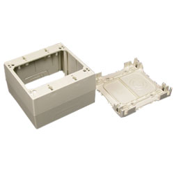 Legrand - Wiremold 400/800/2300/2300D Series Two-Gang Extra Deep Device Box Fitting