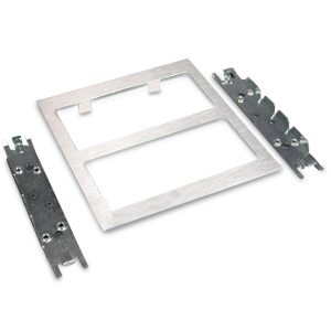 Legrand - Wiremold S4000 Two-Gang Device Plate Fitting