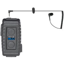 Pryme Bluetooth Lapel Microphone Unit with Bud Style Earphone
