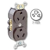 Back and Side Wired 15Amp 277V AC Grounding