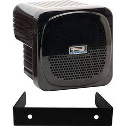 AC Powered Portable Speaker Monitor with Wall Mount Bracket