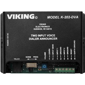 Two-Input Voice Alarm Dialer