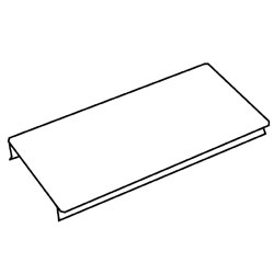 Legrand - Wiremold 6000® Series 5' Raceway Cover