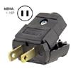 15A 125V Polarized Light Duty Clamptite Plug