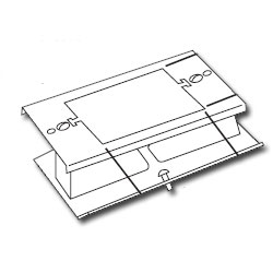 Legrand - Wiremold 3000® Series Raceway Extension Cover