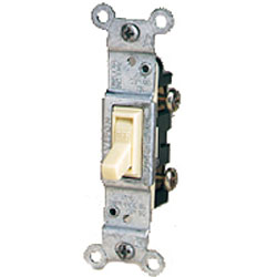 Leviton CO/ALR Side Wired Framed Single-Pole Toggle