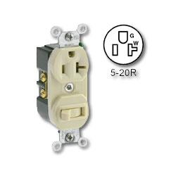 Leviton Single-Pole Switch/Receptacle