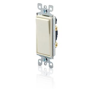 Leviton Decora Single-Pole Illuminated Designer Rocker Switch