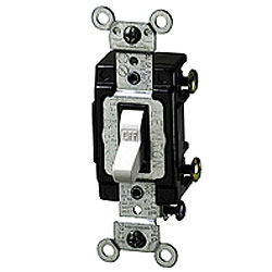 Leviton Single-Pole Lighted Toggle Switch