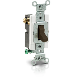 Leviton 3-Way Toggle Side Wired Quiet Switch